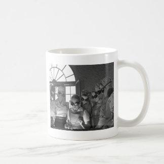 Women Welders in WWII, 1940s Classic White Coffee Mug