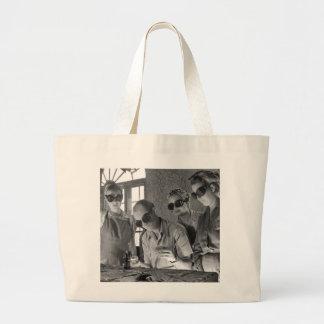 Women Welders in WWII, 1940s Large Tote Bag