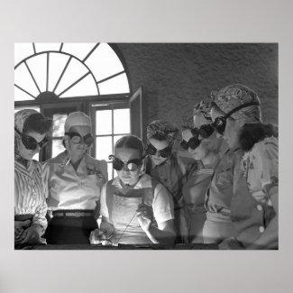 Women Welding, 1942 Posters