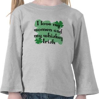 women & whiskey t-shirts