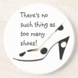 Women Who Love Shoes Beverage Coaster
