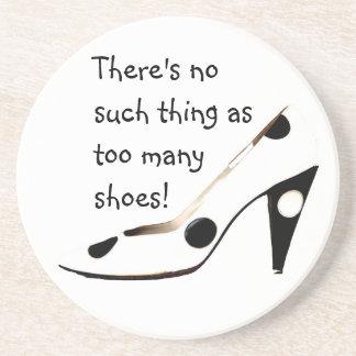 Women Who Love Shoes Coasters