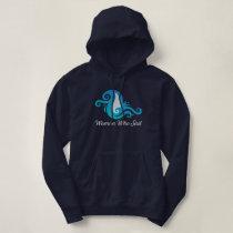 Women Who Sail - Hoodie - Navy Blue