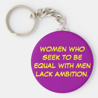 Women who seek... keychains
