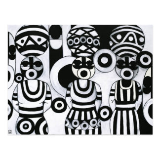 Women with Calabashes by Emeka! Postcard