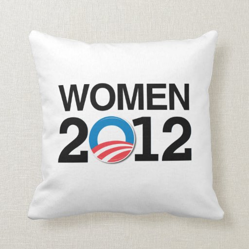 WOMEN WITH OBAMA.png Pillows