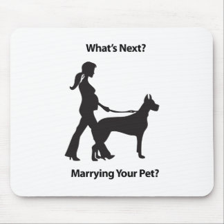 women with pet.pdf mouse pad