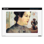 Women With Topknots by Eugène Henri Paul Gauguin Samsung Chromebook Skin