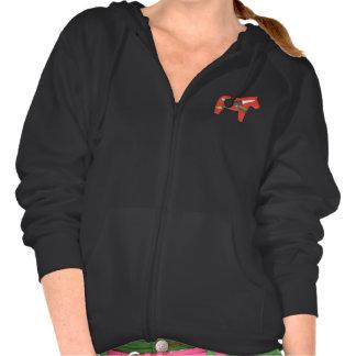 Women Woodcarver's hoodie