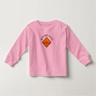 Women Working Construction Sign Toddler T-shirt