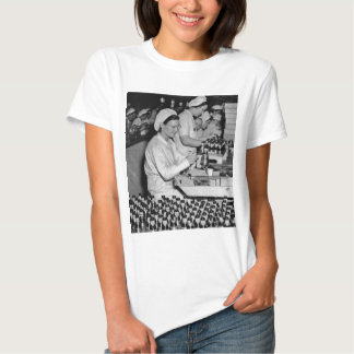 Women Working in Munitions Plant WWII T-Shirt