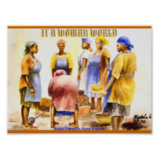 WOMEN WORLD (MOJISOLA A GBADAMOSI OKUBULE) POSTER