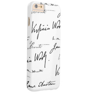 Women Writers Barely There iPhone 6 Plus Case