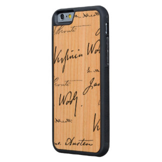 Women Writers Carved Cherry iPhone 6 Bumper Case