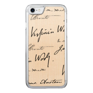 Women Writers Carved iPhone 7 Case