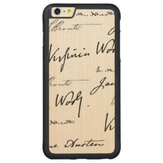 Women Writers Carved Maple iPhone 6 Plus Bumper Case