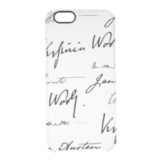 Women Writers Clear iPhone 6/6S Case