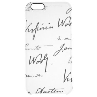 Women Writers Clear iPhone 6 Plus Case