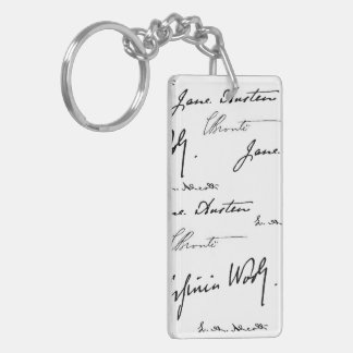 Women Writers double-sided Keychain