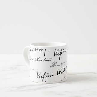 Women Writers Espresso Cup