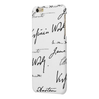 Women Writers Glossy iPhone 6 Plus Case