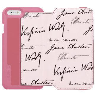 Women Writers iPhone 6/6s Wallet Case