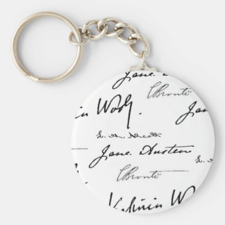Women Writers Keychain