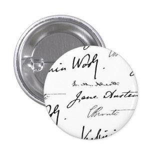 Women Writers Pinback Button
