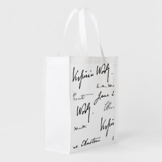 Women Writers Reusable Grocery Bag