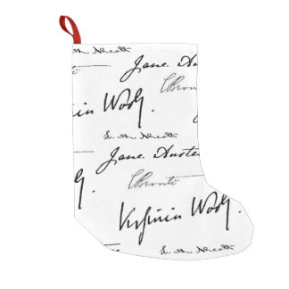 Women Writers Small Christmas Stocking