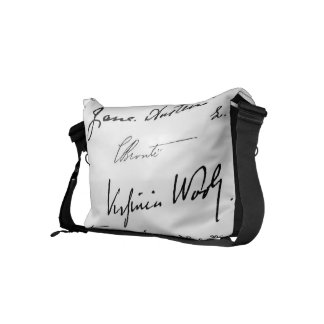 Women Writers Small Messenger Bag