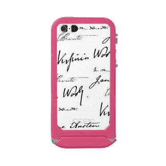 Women Writers Waterproof iPhone SE/5/5s Case