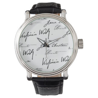 Women Writers Wrist Watch