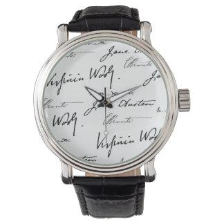 Women Writers Wrist Watch