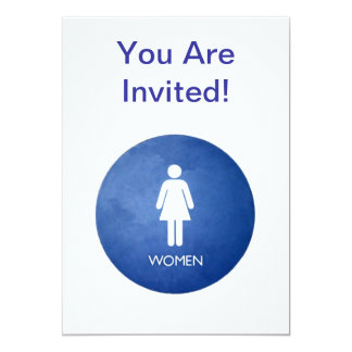 Women, You Are Invited! Card
