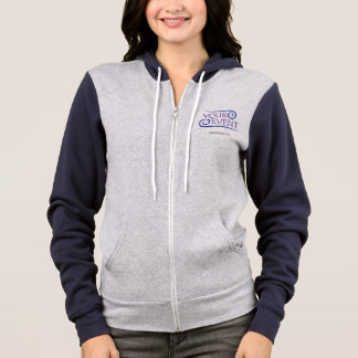 Women Zip Hoodie Custom Event Logo No Minimum