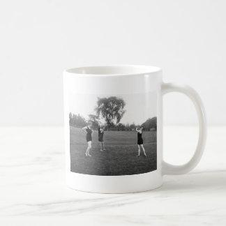 Women's 1920s Golf Fashion Classic White Coffee Mug