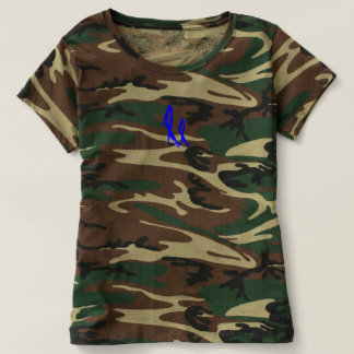 Women's 2NOBBIR Camouflage T Shirt