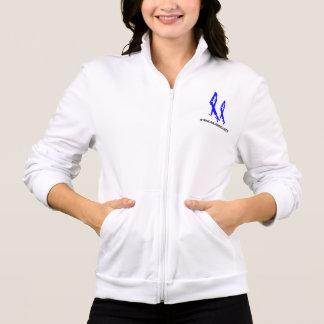 Women's 2NOBBIR Defiance AmericanApparel FleeceZip Printed Jacket