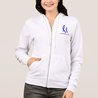 Women's 2NOBBIR Defiance Bella Fleece Zip Hoodie