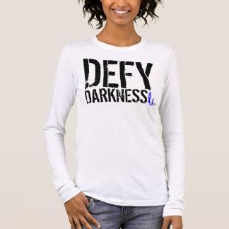 Women's 2NOBBIR Defy Darkness A-Apparel LongSleeve Long Sleeve T-Shirt