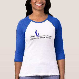 Women's 2NOBBIR Symbol of Freedom Bella Raglan T-Shirt