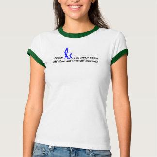 Women's 2NOBBIR Symbol of Freedom Bella Ringer T-shirt