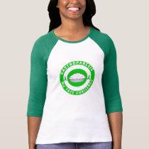 Women's 3/4 Bullseye Logo T-Shirt