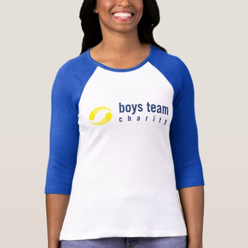 Womens 34 sleeve baseball t_shirt