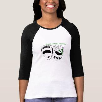 Women's 3/4 Sleeve Bipolar Awareness Shirt
