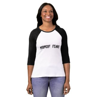Womens 3/4 Sleeve Midnight Fears Tee Shirt