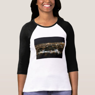 Womens 3/4 sleeve National Security Band Shirt