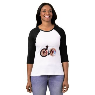 Women's 3/4 Sleeve Raglan JellyRoll T-Shirt