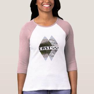 Women's  3/4 Sleeve Raglan T-Shirt EAST COAST